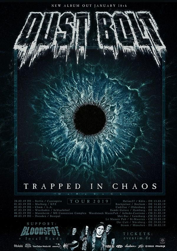Bloodspot tour 2019