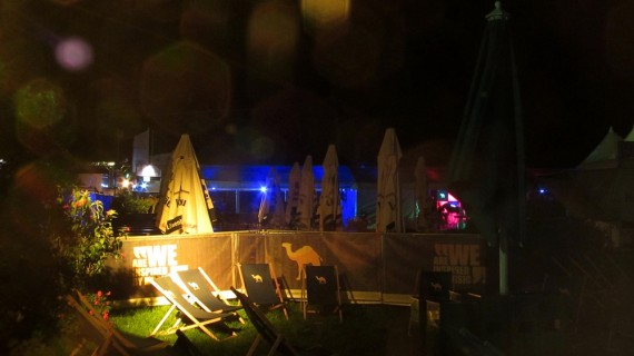 11. Sun chairs in the VIP area