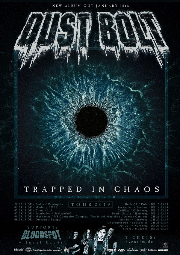 Bloodspot tour 2019